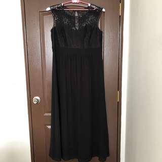 Plus size UK 18 UK 20 evening dress