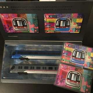 地鐵紀念票及列車