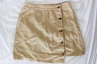 MINKPINK High Waist Button-up Skirt - M