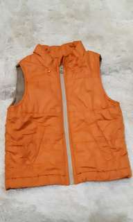 Bubble jacket vest for kids