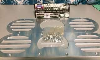 2pcs/Pair Golden Eagle Bumper Speedholes (Silver)