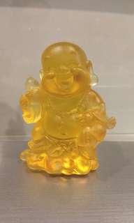 Laughing Buddha Ancient glass