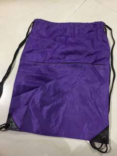 紫色索袋💜男女適用