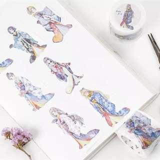 (PO) Kimono Girl Washi Tape