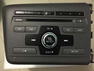 Honda civic fb radio & cd player