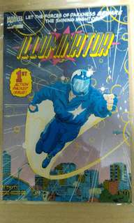 Vintage 1993 Marvel vol. 1 issue1 Illuminator comic.