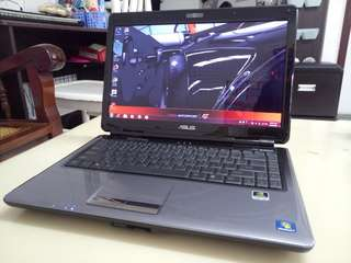 Asus 14.5inch/win7/4Gb/500Gb hdd/Gaming