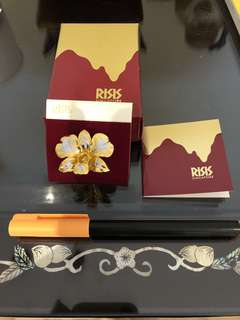RSIS Gold plated orchid