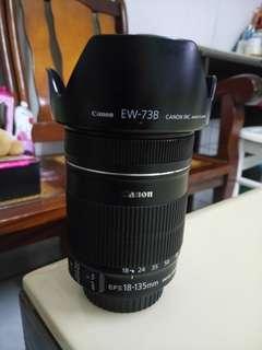 🚚 Canon Lens 18-135Mm