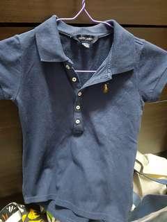 Polo Ralph Lauren Blue Polot T-shirt 7yrs
