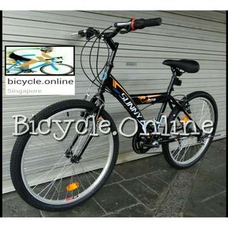 "24"" Sunny, Simple Mountain Bike / 12 Speeds MTB ✩ Brand new bicycle"