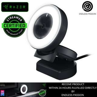 Razer Kiyo Broadcasting and Streaming Camera with Illumination