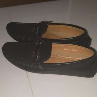 Black loafers bought from Messy Bugis