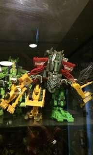 Transformers construction combiner