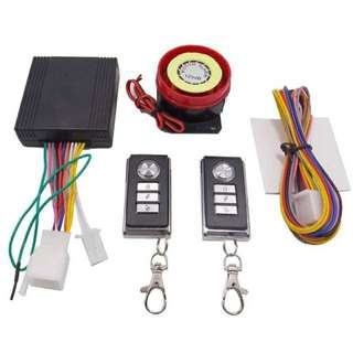 Motorcycle Alarm System Remote Control Engine Push Start