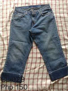 Cut-off Jeans