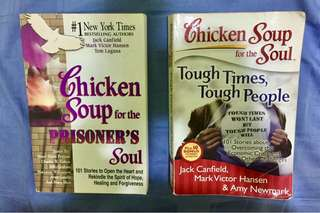 Chicken Soup books ($15 for 2)