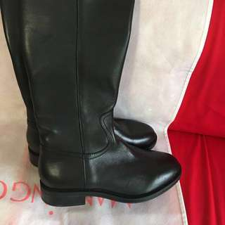 Italian Genuine Leather Boots 38