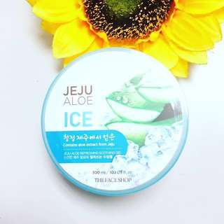 The Face Shop Jeju Aloe Refreshing Soothing Gel