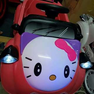 Hello Kitty Baby Car