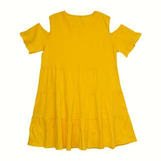 *IN STOCK* ASHLEY TIER DRESS IN YELLOW