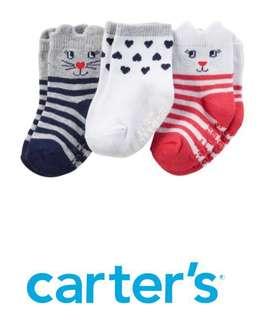 Carter's 3-Pack Kitty Socks