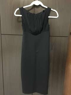 TED BAKER UK4 Bodycon Sheath Dress with diamond-like studs
