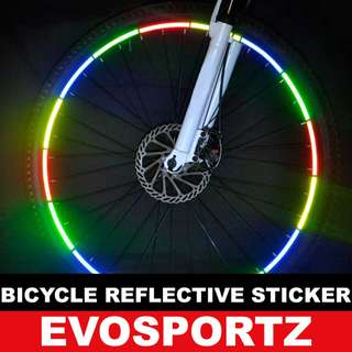 Bicycle Wheel Reflective Stickers