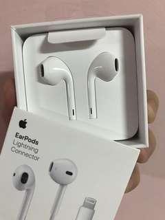 Apple EarPods Lighting 雙耳線控原廠耳機