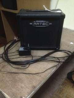 Guitar electric & Amp 10watt