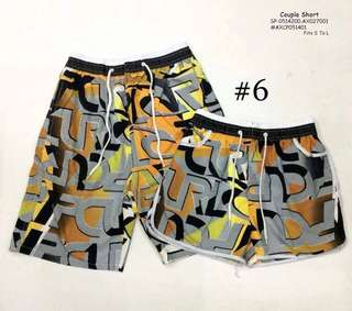 COUPLE SHORT Fits S To L  Price : 450