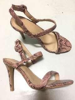 Elegant Heels (Snakeskin-like)