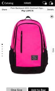 Brand new Hawk Backpack