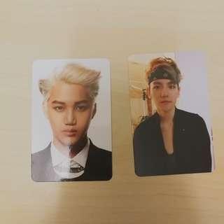 exo original photocard