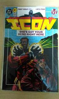Vintage 1993 DC ICON first issue collectors comic.