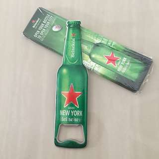 Bottle opener with magnet