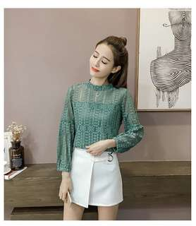 (READYSTOCK) Lace Top