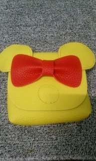 全新 兒童 米妮黃色側包