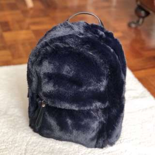 Mango Limited Edition Fur Backpack