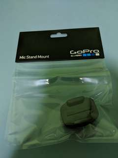 "Gopro mic stand mount 5/8"" to 27"