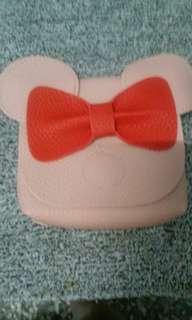 全新 兒童 米妮粉紅側包