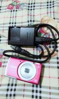 Canon粉色相機