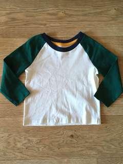 [readystock] Primark boys LS tshirt (9-12m)