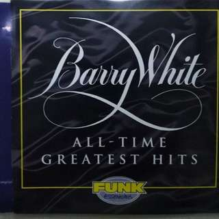 Barry White greatest his original CD with front back cover free local postage