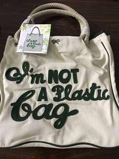 Anya Hindmarch 'I'm Not Plastic Bag'