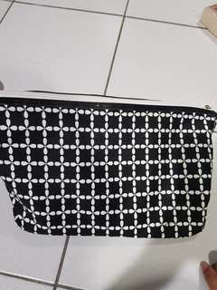 REPRICED!!!BLACK AND WHITE Clutch Bag
