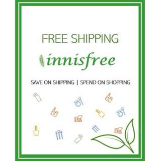 Free Shipping to SG - innisfree