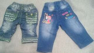 Take all Jeans anak umur 1 & 2 tahun
