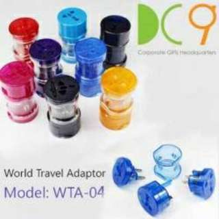 Universal Travel Adapter color may vary