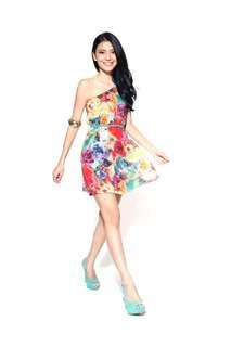 BNWT Love Bonito Tasha Toga dress S